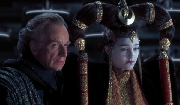 Palpatine and Amidala